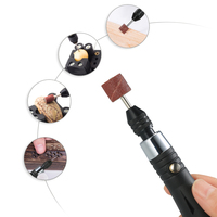 KKmoon 30W Mini Electric Grinder Drill Tool Engraving Pen Grinding Milling Polishing Tools Designed For Jade