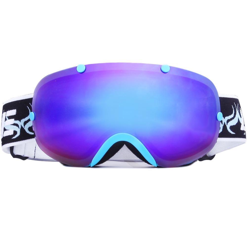 Ski Goggle Helmet Compatable with Extra Long Adjustable Strap Fit fot Men And Women