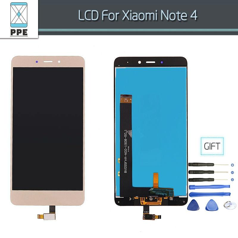 Xiaomi Note 4 Lcd Gold 1