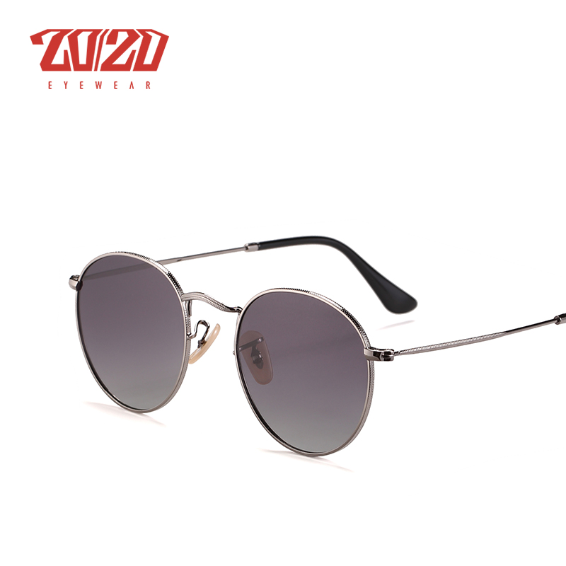 20/20 Brand New Unisex Sunglasses Men Polarized Lens Vintage Round Metal Eyewear Accessories Sun Glasses for Women 17018-1 14