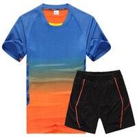 2018 new Large size 8XL 7XL 6XL 5XL Men Suit Summer Style Short Sleeve shirt Causal Male Set Tracksuit Man Shirt