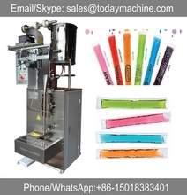 Automatic barrel packaging type stick ice lolly/ice pop/jelly packing machine
