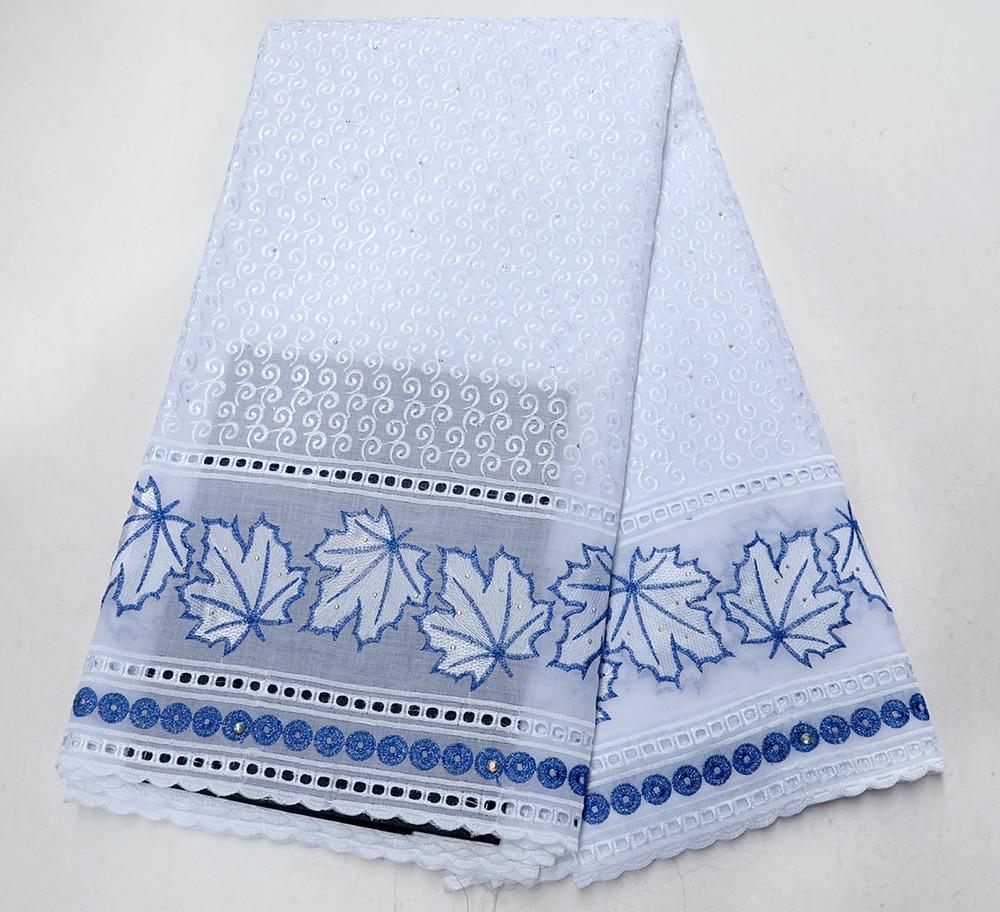 Dubai suisse Voile coton dentelle tissu 2019 à la mode africaine suisse voile dentelle en suisse haute qualité suisse sec lacets