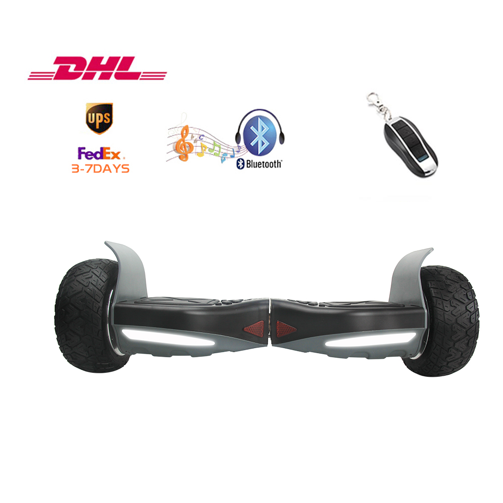 8.5 inch Samsung battery scooter 2 wheels smart electric hoverboard remote control stakeboard free shipping 3-8 days of delivery