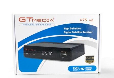 Freesat v7s/GTMEDIA V7S HD DVB S2 HD récepteur Satellite prise en charge PowerVu Biss clé Ccamd youporno gratuit sat v7 wifi av en option-in Récepteur de télévision par satellite from Electronique    3