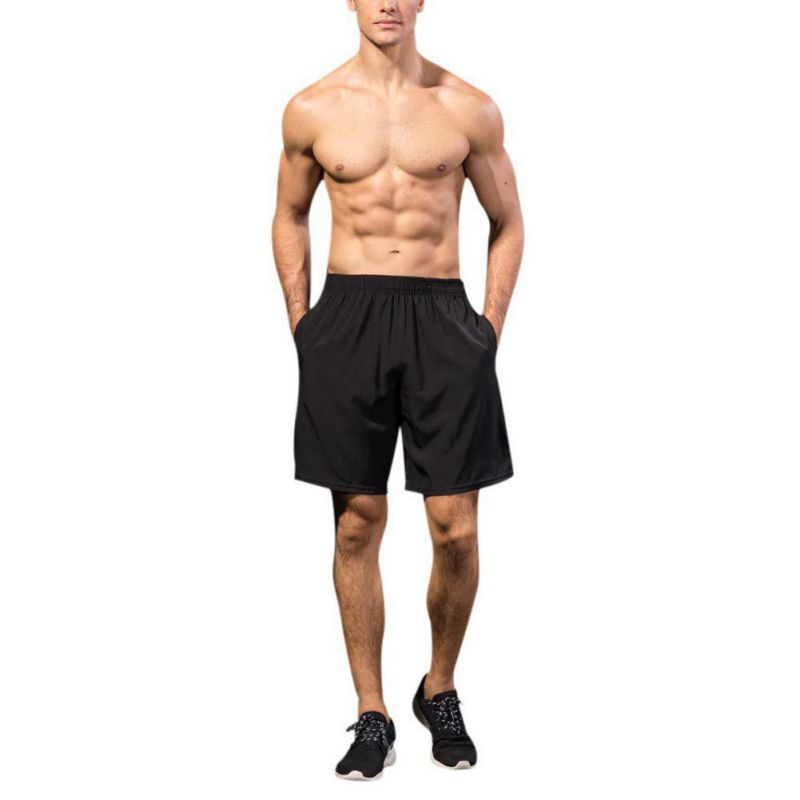 Summer Mens Sports Training Shorts Breathable Quick-dry Fitness Basketball Joggers Shorts Jogging Clothing