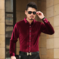 2016 ISMEN Mens Dress Shirt Long Sleeve Cotton Male Business Casual Printed Fashion Formal Shirts Slim Masculina Camisa