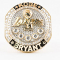 The newest basketball rings for fans Collect souvenirs 2016 Present Kobe Bryant with Retirement replica championship Ring
