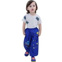 2017 Spring Children Rain Pants High Quality Rain Pants For Kids Baby Boys Girls Casual Rain-proof Pants Students Raincoat Pants