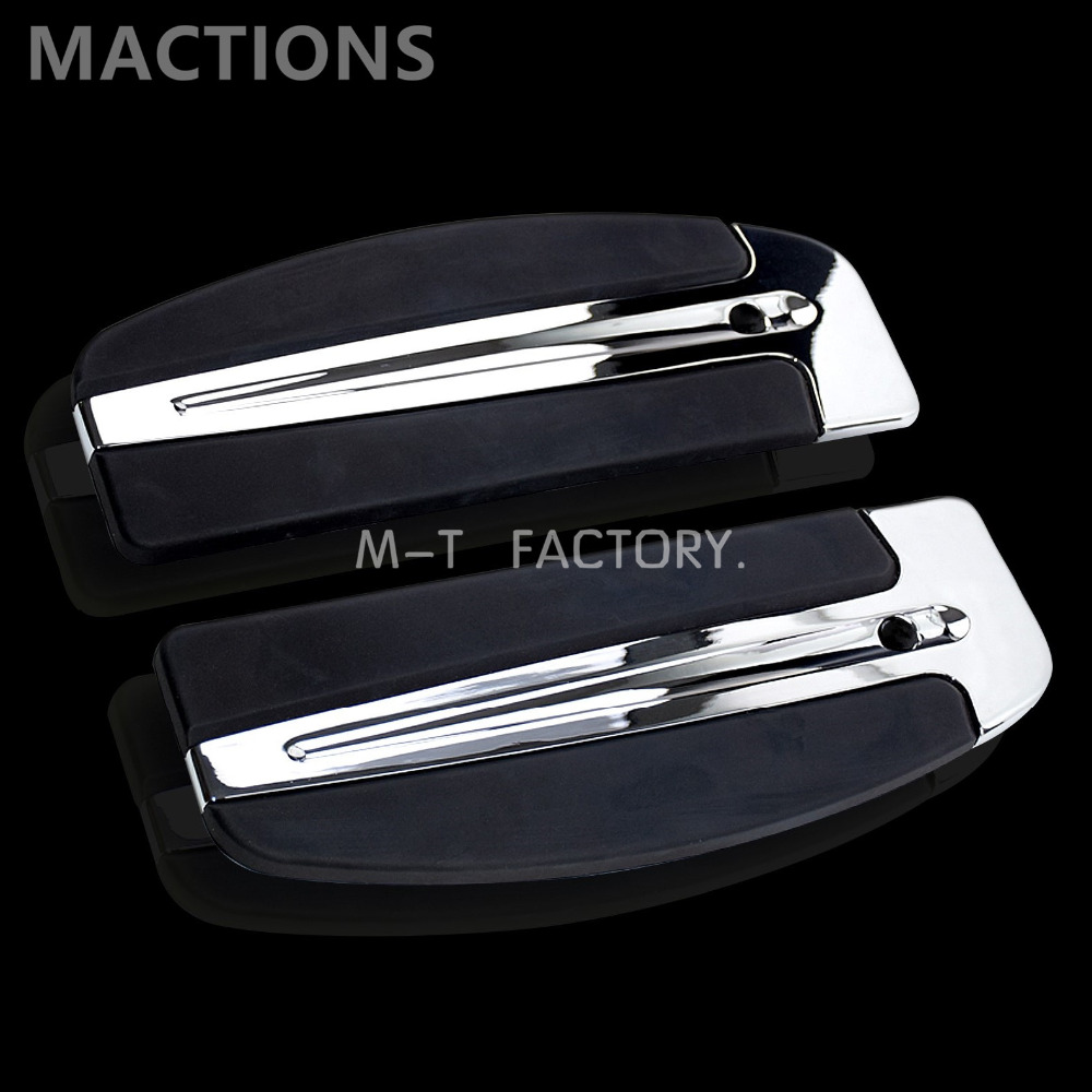 Motorcycle Footboard Foot Pegs Foot Rest Case for Harley Softail Switchback Touring FLH Road King Electra Glide 86-17Motorcycle Footboard Foot Pegs Foot Rest Case for Harley Softail Switchback Touring FLH Road King Electra Glide 86-17