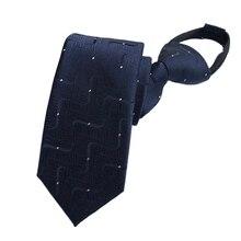20 Colors Pre-tied NeckTie Mens Present Skinny Zipper Ties Red Black Blue Slim Narrow Bridegroom Party Dress Neckties Gifts