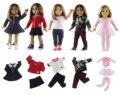 Горячая 5 Компл. Куклы Новый Стиль для 18 ''American Girl Кукла Принцесса Платье Балетная пачка