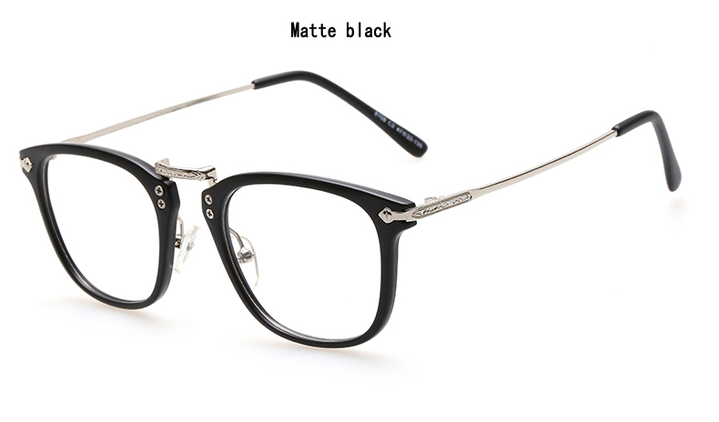 retro full frame glasses frame men and women eyewear eyeglasses frame best price and high quality free shipping in eyewear frames from mens clothing
