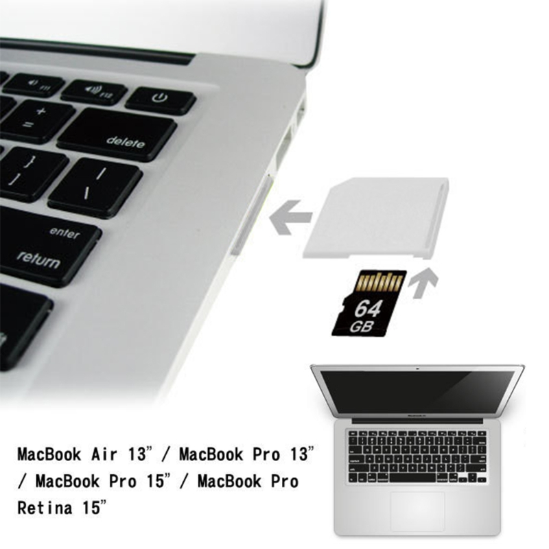 Microsd Adapter For Macbook Air MicroSD TF To SD Card Memory Card Portable Converter Adapter