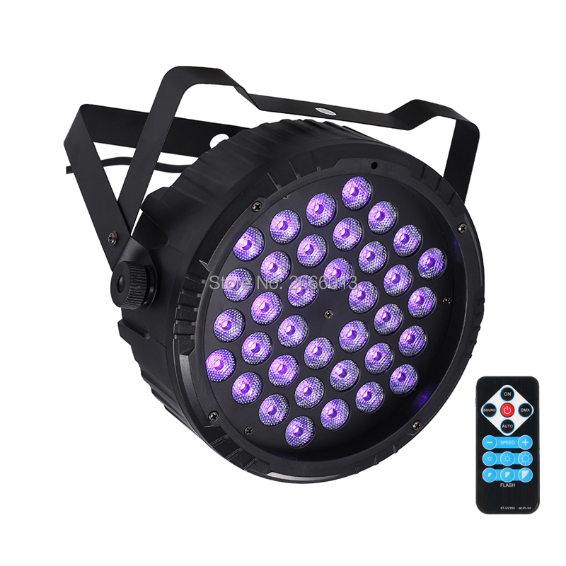 UV Stage Light 36 LEDS Par Light DMX LED Par Club Party Light LED Strobe Lamp Wireless Remote Control UV Purple Effect Lighting набор чехлов для дивана и кресел мартекс с карманами 3 предмета 05 0751 3