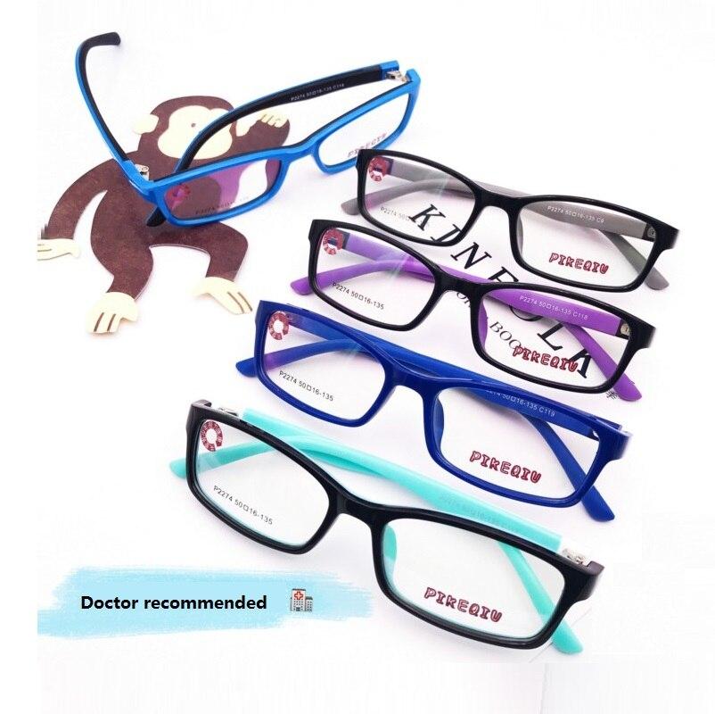 50-16-130 New High-End детская EYE рамка Brand TR90 Soft Силиконовые Рамка подростков близорукость кадров 2274 дети Eye очки кадр