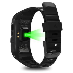 Image 3 - SENBONO جديد GPS IP68 مقاوم للماء الرياضة الذكية الفرقة رصد نشاط القلب المقتفي ارتفاع معدل ضربات القلب سوار ذكي للياقة