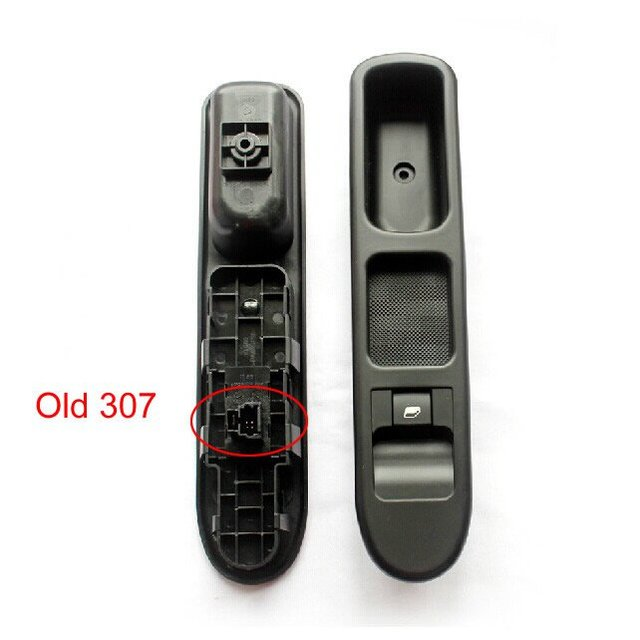 (Old)Right Front Power Window Switch For Peugeot Window glass Control switch 2000-2007 307 307CC 307SW Free Shipping