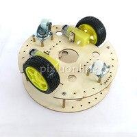 1suit J188b Model R3W4 Robot Car Chassis DIY Remote Control Car Frame Model Assemble Toys Promote