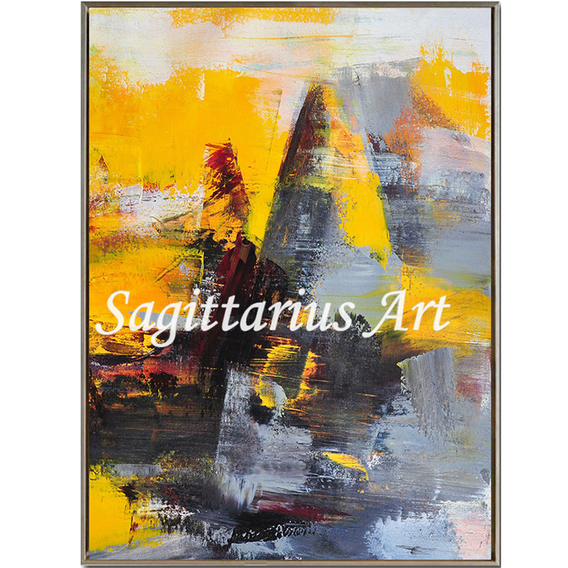 Hand made high quality Fine Art Contemporary Abstract Modern Oil ...