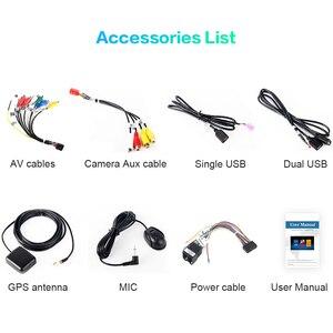 "Image 5 - Dasaita 10.2 ""tela hd 2 din rádio do carro android 9.0 universal estéreo multimídia para nissan bluetooth gps navegação 64g rom"
