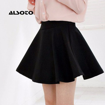 ALSOTO New Women Skirt Sexy Summer skirt Korean Version Short Skater Fashion Female Mini Skirt Women Clothing Bottoms Vadim tutu 2