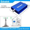 Lintratek 20dBm 65db 2100 MHZ 3G WCDMA Repetidor de Sinal Amplificador de Antena 3G Impulsionadores Do Sinal Do Telefone 2100 Móvel