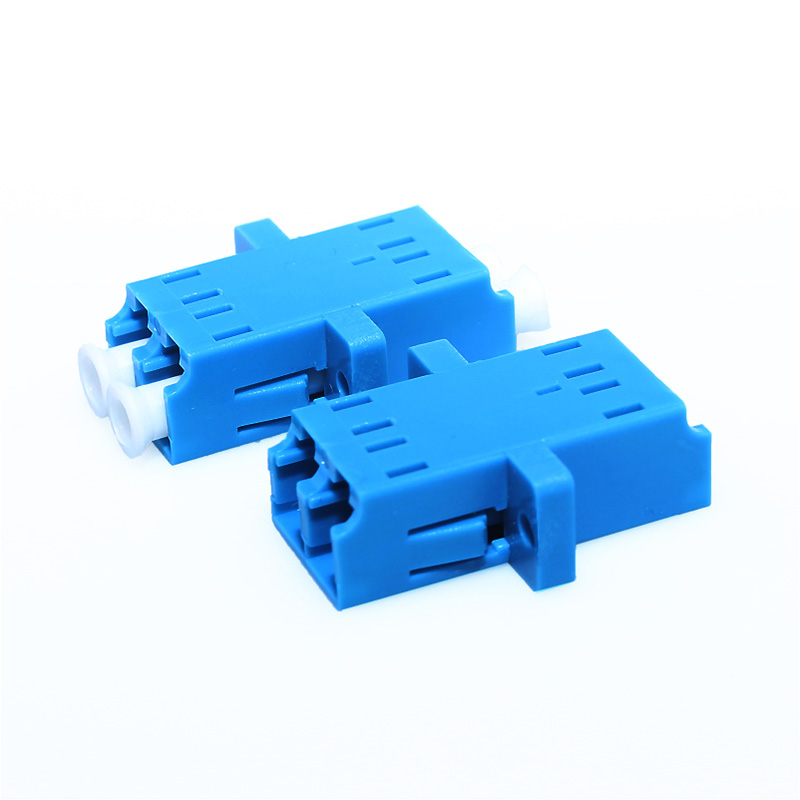 Image 3 - 100pcs Fiber Optic Adapter LC UPC Singlemode Duplex SM Adaptor Coupler LC/UPC-in Fiber Optic Equipments from Cellphones & Telecommunications