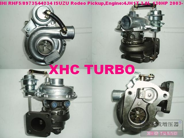 US $173 47 17% OFF|NEW RHF5 VIEK 8973659480 Turbo Turbocharger for ISUZU  Rodeo D Max Colorado Pickup 4JH1T 3 0L 130HP-in Turbo Chargers & Parts from