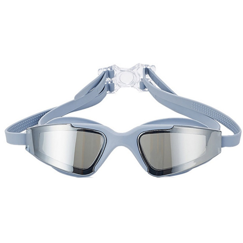 2018 New Male&Female Swimming Goggles HD Waterproof UV Plating Lens Swimming Goggles