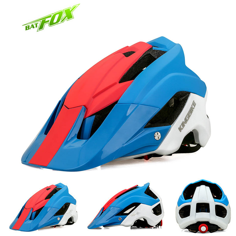 BATFOX High Quality mtb Cycling Helmet For Men & Women 2017 New Ultralight Bike Safety Cap Integrally-molded Bicycle Helmets high quality safety helmet overhead work rock climbing bike cycling safety hat abs material mountain bicycle safety helmet 397