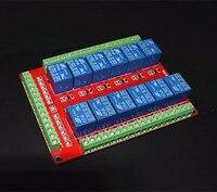 2pcs Lot Free Shipping 12 Way Relay Module Low Level Trigger Dual PCB Dual Terminal 5V