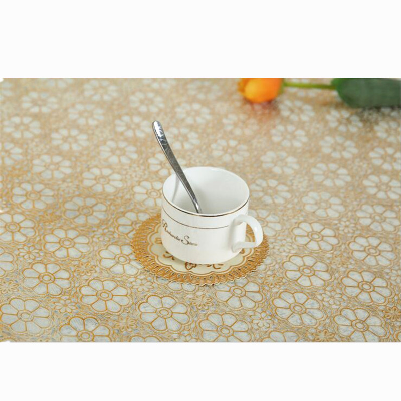 10Pcs PVC Bronzing Hollow Cup Mats Round 12cm Small Cup Placemat Non Slip  Insulation Table Protect Pads Tea Pad Table Decoration In Mats U0026 Pads From  Home ...