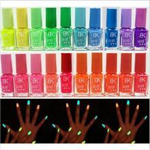 Hotsell fluorescent enamel glow dark luminous candy beauty the polish art