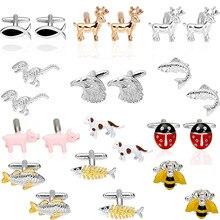 Novelty Cufflinks with Dog Design