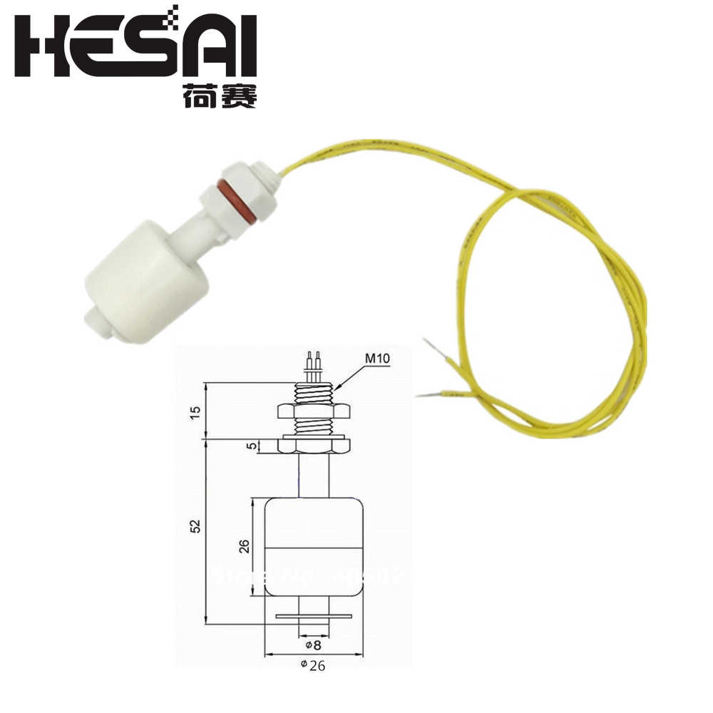 hight resolution of detail feedback questions about 52mm pp liquid water level sensor horizontal float switch down on aliexpress com alibaba group