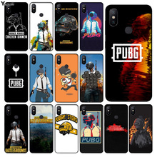 Yinuoda pubg batterground game Customer High Quality Phone Case for xiaomi mi 6  8 se note2 3 mix2 redmi 5 5plus note 4