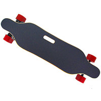 T Shade Dual Motor Electric Skateboard N5065 Speedotor LED Lights With Wireless Remote Controller 23Km Endurance Plate Longboard