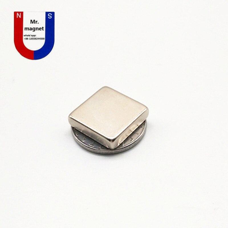 50pcs high quality 20x20x5mm strong neo neodymium magnet 20x20x5 NdFeB magnet 20 20 5mm 20mm x
