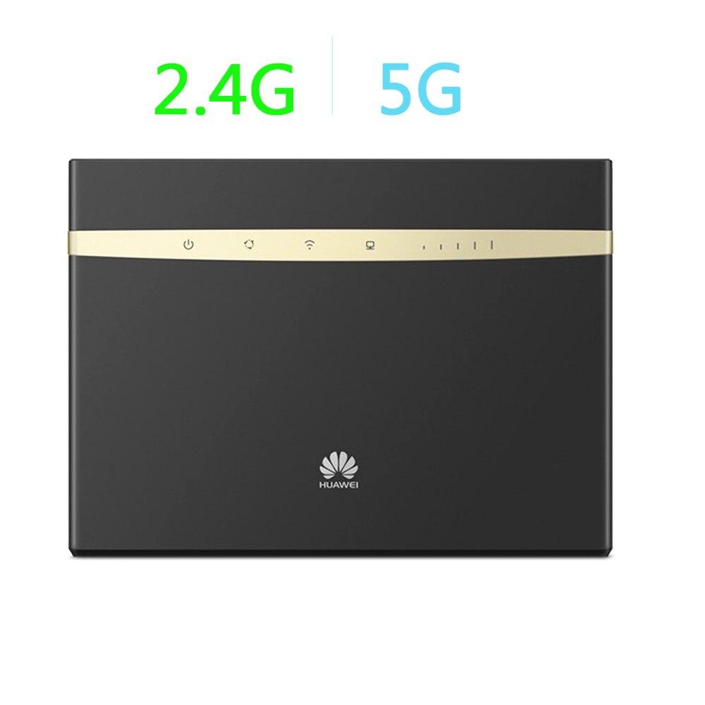 Débloqué Huawei B525-65a 4G LTE CPE Wifi Routeur Cat6 300 mbps CPE Routeur 4G LTE Routeur WLAN pk B593 B593U-12 B593S-22 E5786S-62A