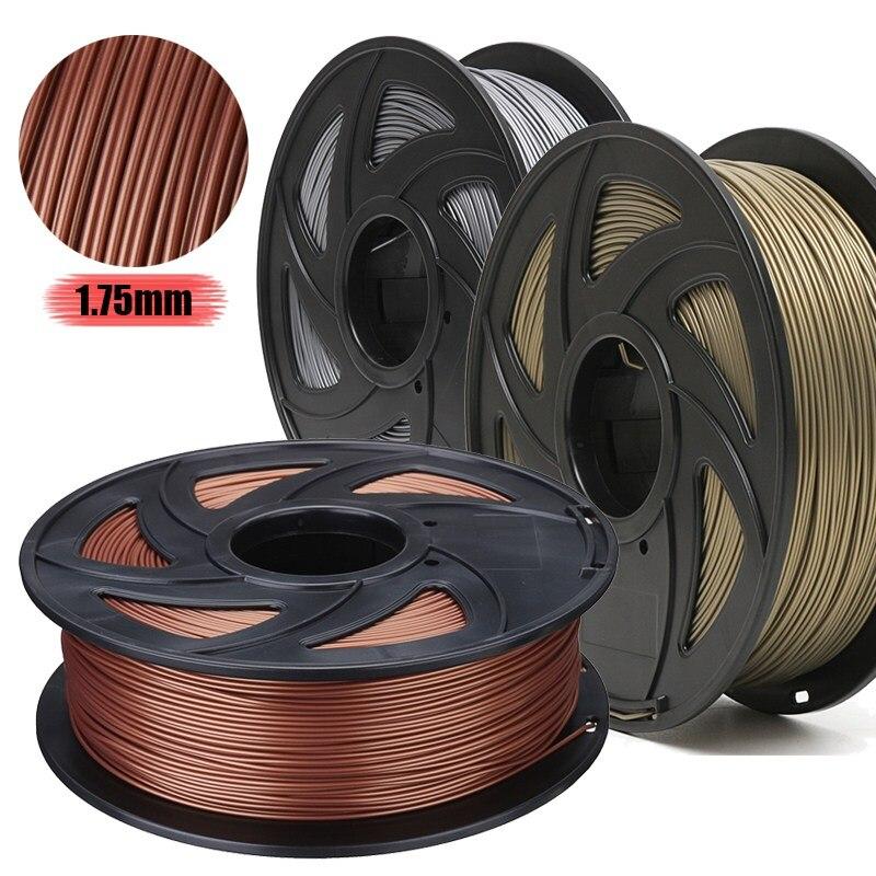 Métal 3 Couleur 3D Filament D'imprimante Kit 1.75mm PLA Pour RepRap