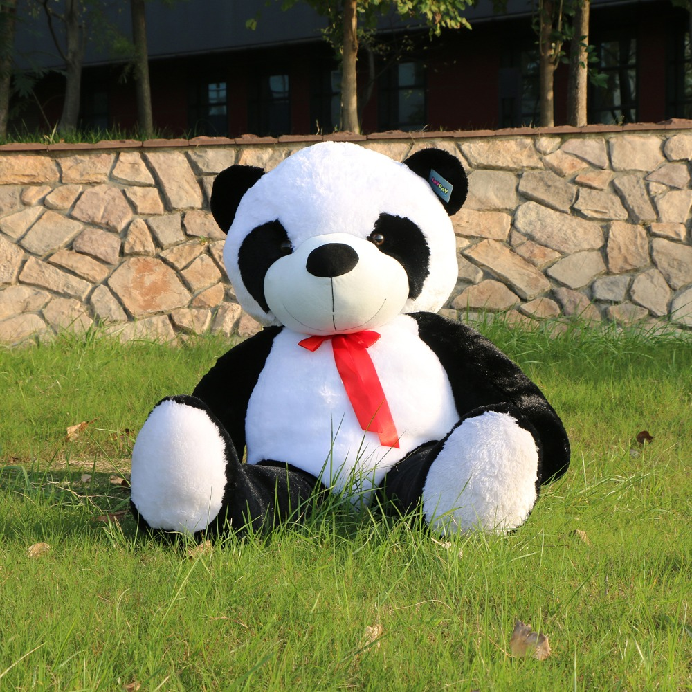Joyfay Giant Huge Big 120 cm Panda  Bear Stuffed  Plush Animal Toy  47'' 47 inch Panda Bear Best gift for Birthday Valentine's 1pc oversize huge 80cm funny stuffed simulated panda toy giant filling panda plush doll nice gift and decoration