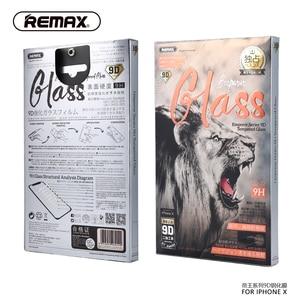 Image 5 - REMAX 9D Full Coverกระจกนิรภัยป้องกันหน้าจอสำหรับiPhone XS XR XSสูงสุด11 11PRO 11PROMAX 12PRO 12PROMAXพื้นผิวโค้งฟิล์ม