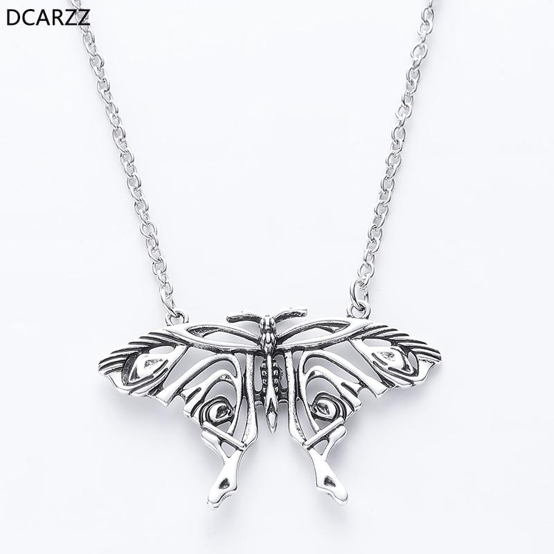 Мамма миа антикварная бабочка кулон Юн Донна большая бабочка ожерелье костюм Cosply ювелирные изделия Аксессуары для женщин подарок