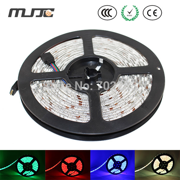 2pcs 5M 600leds 5050 RGB Waterproof IP65 led Strip Light + 1PC IR 24Keys RGB Controller + 1PC 12V 12.5A 150W Switch Power Supply good group diy kit led display include p8 smd3in1 30pcs led modules 1 pcs rgb led controller 4 pcs led power supply