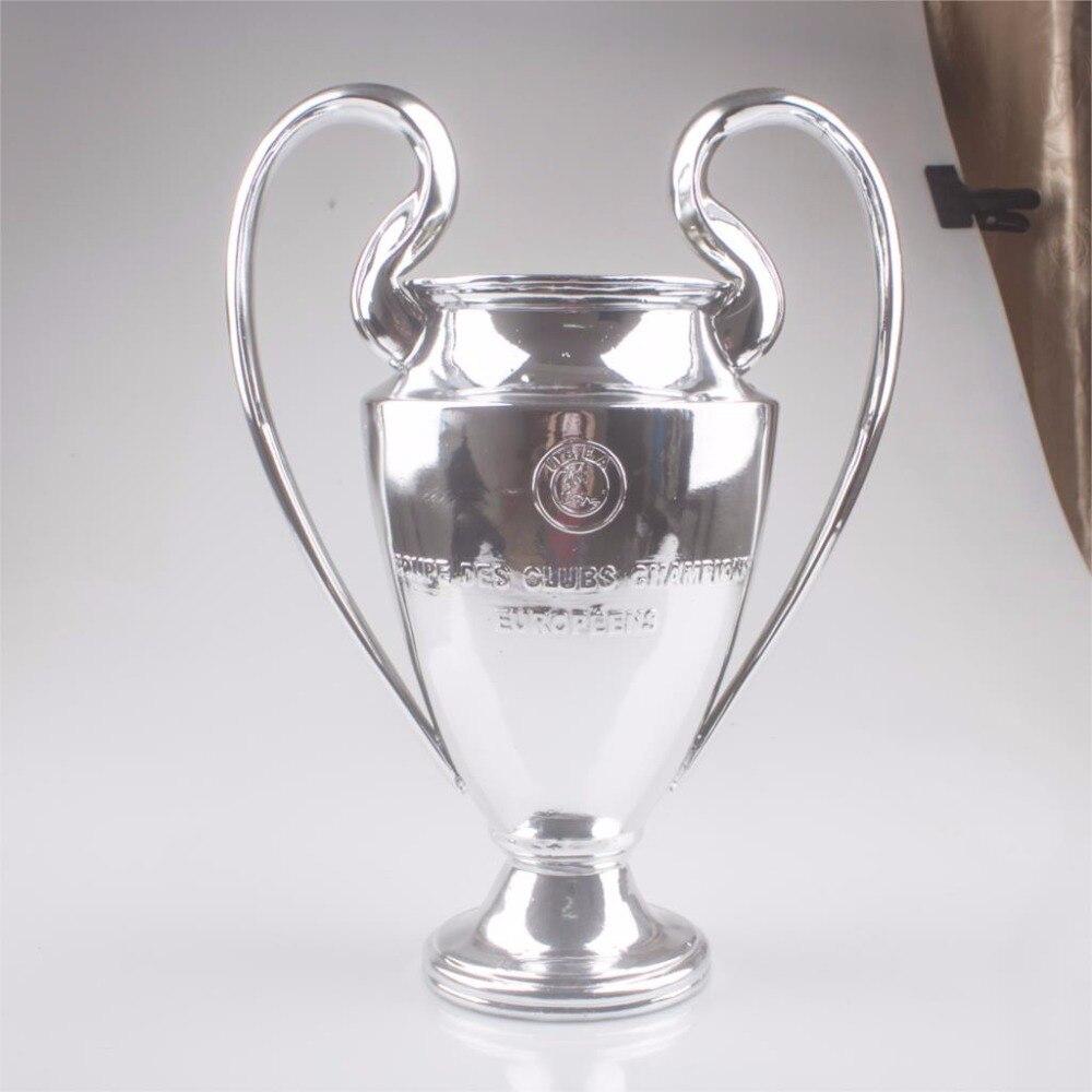 цены на free shipping 30 CM Champions League Trophy European Cup for Fans Souvenirs Trophy Soccer Souvenirs