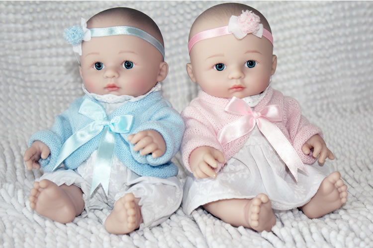 2015NEW Wholesale Minidoll Realistic Reborn Baby Soft Real Touch Baby Dolls  Fashion Doll Birthday Gift Cute Sweet Baby In Dolls From Toys U0026 Hobbies On  ...