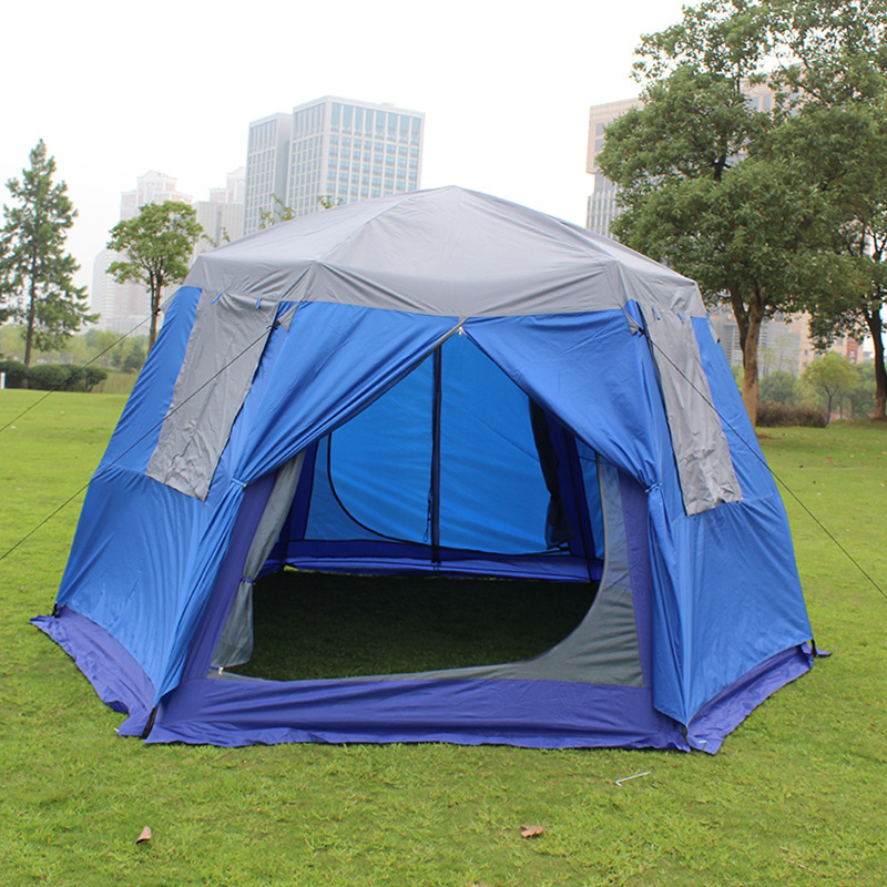 hot sale online 57398 3b817 High Quality 8 10 Person Double Layer Outdoor Waterproof Pop ...