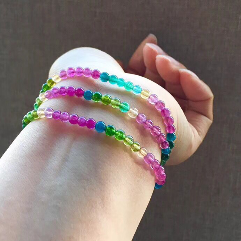 Wholesale Color JoursNeige Natural Tourmaline Stone Ice glutinous Stone Bracelets Lucky for Women Girl Fashion Bracelet JewelryWholesale Color JoursNeige Natural Tourmaline Stone Ice glutinous Stone Bracelets Lucky for Women Girl Fashion Bracelet Jewelry