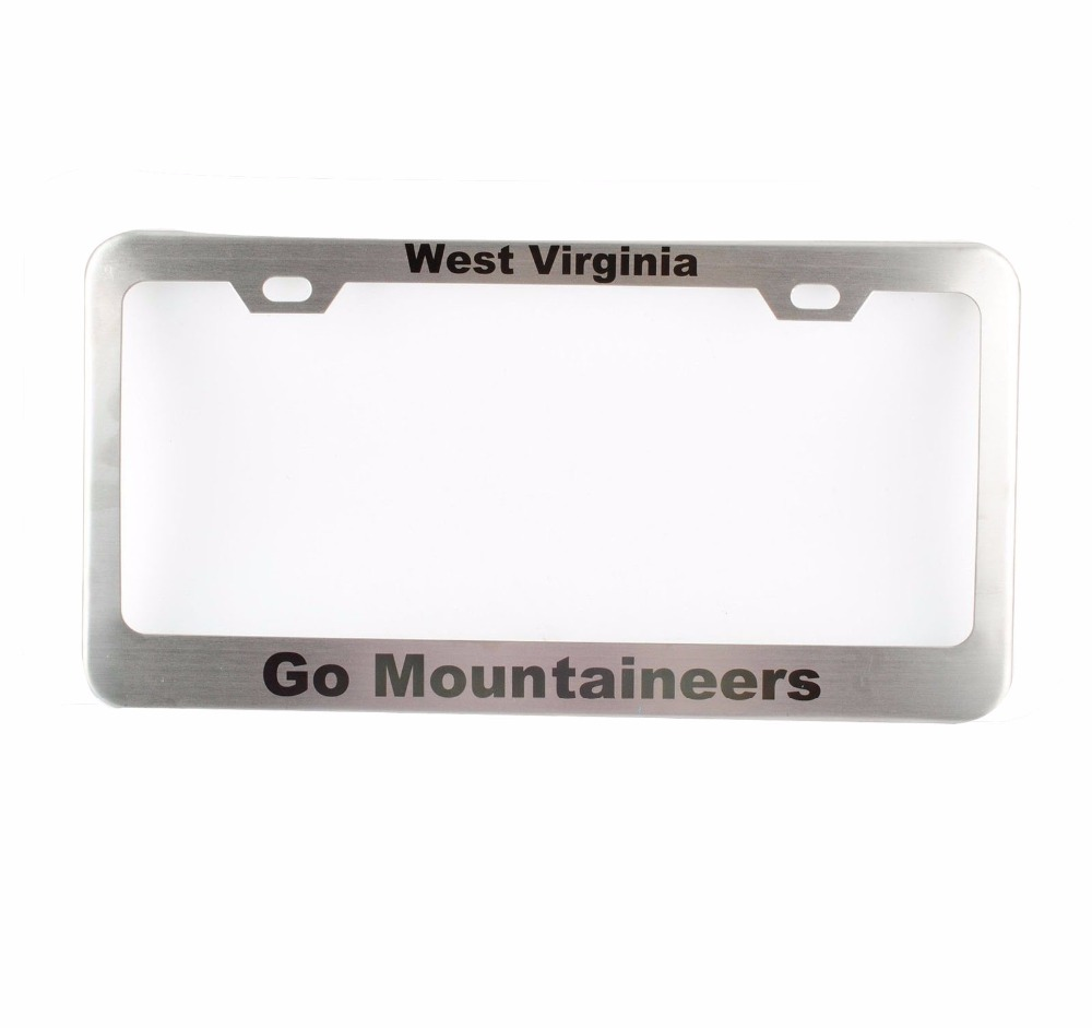 Custom Car License plate frame license holder Personalized License ...